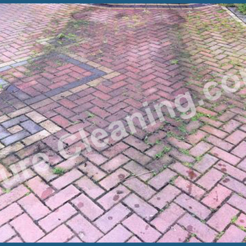 Block Pave before clean