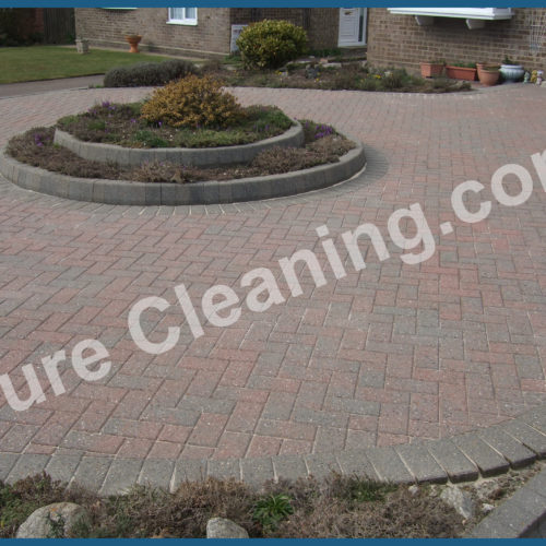 Cleaned Block Pave area