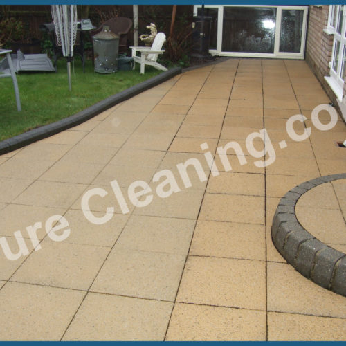 Patio Slabs After Clean
